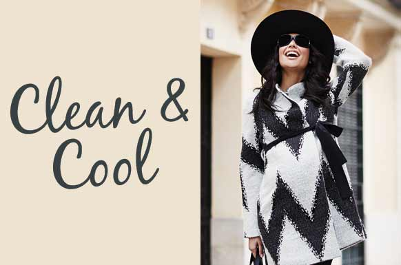 Clean and Cool- stylische Wintergarderobe bei Paulina Umstandsmode