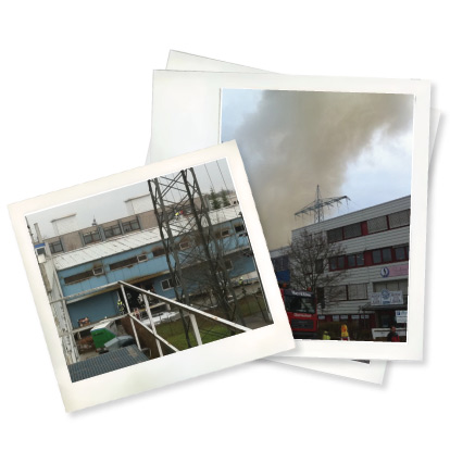 Grossbrand in Gr�felfing