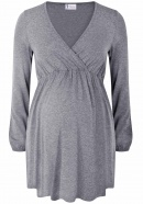 Nursing Tunic Valentines Day dark grey