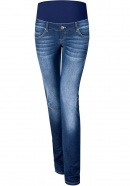 Umstandsjeans Truth about Men blue denim