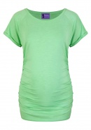 Umstandsshirt American Friends apple green