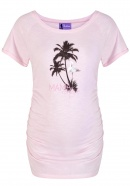 Umstandsshirt Flamingo Road light pink