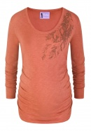 Umstandsshirt Here On Earth smoky rust