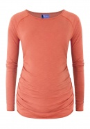 Umstandsshirt Just Wright smoky rust