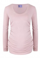 Umstandsshirt The Perfect World smoky pink